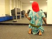 somali girl shaking her ass