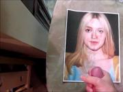 Dakota Fanning Cum Tribute 10