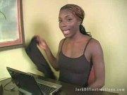 Jerk Off Instructions - Ebony Heights