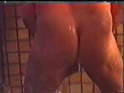fat old man cock shower
