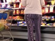 Gaped legged granny 2