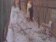 Carole Pierac in Fur Coat #1