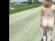Public Nudity Body Stocking