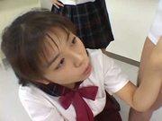 Japanese schoolgirls bukkake (censored)