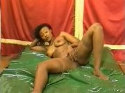 French Ebony Gangbang
