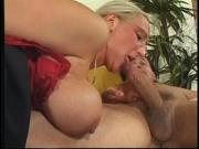 Papa - Blond chickl With Giant Tits Loves Getting Pounded
