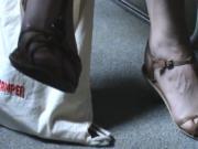 Friend's feet in sandals 14