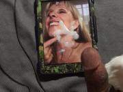 Carol Cox tribute #3 23 YO BJ decent load by younger fan