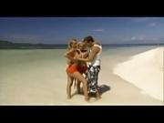 Ellen and Sandy on the beach...F70