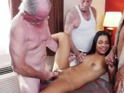 Love old woman first time Staycation with a Latin Hottie
