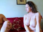 AgedLovE Hot Mature Lady Seducing Businessman