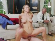 Milf big tits stockings solo and strap on doggy first time Molly