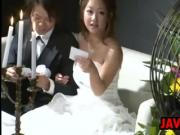 Japanese Bride Having Sex