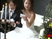 Japanese Bride Having Sex