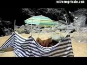 Mom in beach Sex video I found on her PC