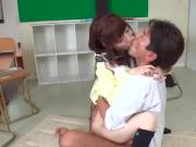 Karin leads teachers cock right in her pussy