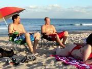 ally's chum's teen nipples Beach Bait And Switch