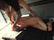 Christian girl rough xxx Halle Von is in town on vacation with her