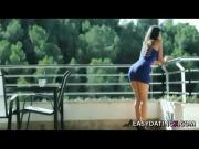 Anal skinny girl in mini dress - easydatingx.com