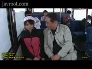 young wife chikan train