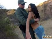 Cop arrest prostitute and boarder patrol fuck Pretty latin girl Josie