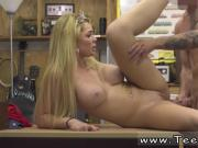 No panties on under skirt in public and pawn store Weekend Crew Takes