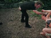 Strap on rough doggy and police woman bdsm first time Raylin Ann is a