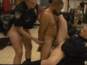 Milf strapon threesome xxx We apprehended the suspect on the spot and