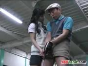 Asian Girl Wants Her Golf Coach