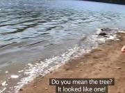 Lesbian girlfriends nude at lake