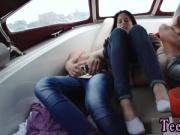 Fat ass teen A nasty boat trip