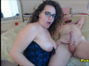Fucking My Cute Curly Curvy Girlfriend in Corset