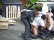 Fake cop kiki 1 I will catch any perp with a phat dark-hued dick,