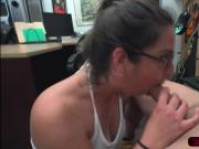 Lovely amateur Charlie Harper gets fucked hard in Shawns office