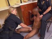 Milf pov blonde big tits big ass Black Male squatting in home gets