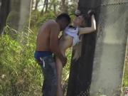 New slave training Helpless teen Lily Dixon is lost and found a few