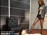 Japanese secretary stinky nylon foot fetish - More at Elitejavhd.com