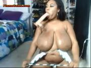 Ebony BBW In Heels Gets Freaky
