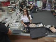 Fitness brunette Fucking A Sexy Latina Stewardess