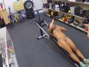 Brunette trimmed pussy and hardcore virgin sex Muscular Chick Spreads