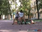 Amateur Russian Exhibitionists