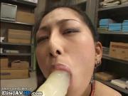 Japanese hot secretary blowjob training - More at Elitejavhd.com