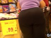 Grandma With Big Ass At The Store