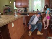 Gf big dick teen and fun blonde teen The Plumber gets His Pipe Cleaned