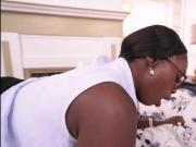 Bubble butt black milf Vickie Starxxx interracial fuck