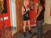Raceplay Bella female domination foot gagging whipping