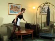 fuck is the housekeeper at the hotel