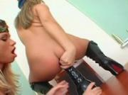 two army girls getting hard anus
