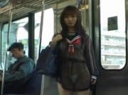 Mikan Lovely Asian schoolgirl is an exhibitionist 3 by JPflashers