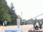 Asian amateur in nude track and field 2 by JPflashers
